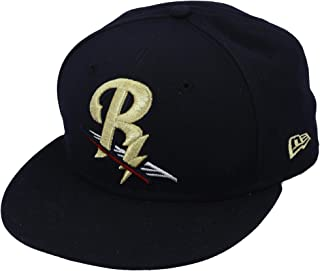 Scranton/Wilkes-Barre RailRiders Game-Issued Navy and Gold Cap from the 2017 MiLB Season - Size 7 - Fanatics Authentic Certified