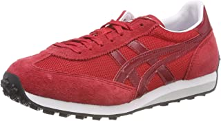 zapatillas asics rojas y negras