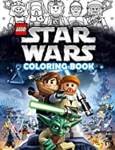 Lego Star Wars Coloring Book: Lego Star Wars Jumbo Coloring Book With Premium Images For All Ages