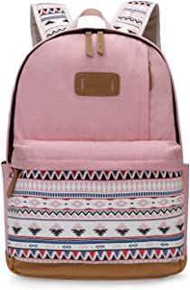 Backpack for Girls Cute School College Casual Daypack for Teens Girls, Pink