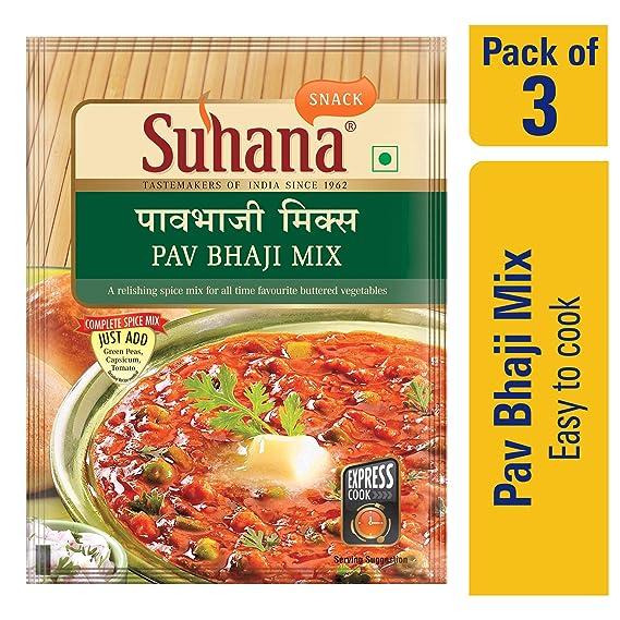 Suhana Pav Bhaji Spice Mix 50g
