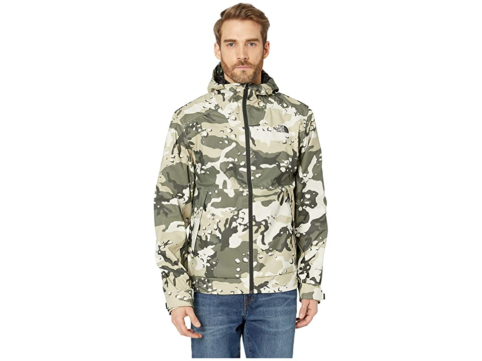 The North Face Millerton Jacket (Peyote Beige Woodchip Camo Print) Men