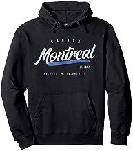 Montreal Canada Retro Pullover Hoodie