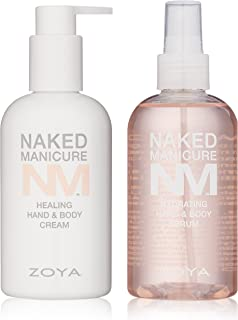 ZOYA Naked Manicure Healing and Hydrating Dry Skin Hand and Body System