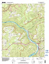 YellowMaps Meadow Creek WV topo map, 1:24000 Scale, 7.5 X 7.5 Minute, Historical, 1996, Updated 2002, 27.4 x 22 in