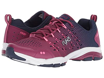 Ryka Vivid RZX (Raspberry Fabric/PU) Women
