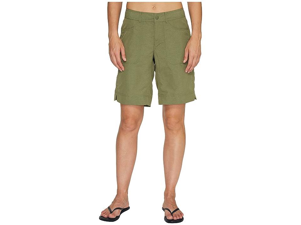 The North Face Horizon 2.0 Roll-Up Shorts (Deep Lichen Green Heather (Prior Season)) Women