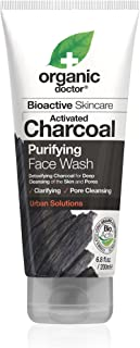 Organic Doctor Purifying Charcoal Face Wash, 6.8 Fluid Ounce