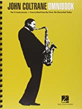 John Coltrane Omnibook For E Flat Instruments