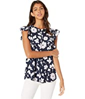 Kate Spade New York - Splash Flutter Sleeve Top