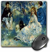 3dRose BLN Book and Reading Featured in Fine Art – The Henriot Family, c. 1875 by Pierre Auguste Renoir – MousePad (mp_170911_1)