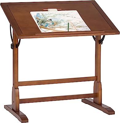 Studio Designs 13304 Vintage Drafting Table, Rustic Oak