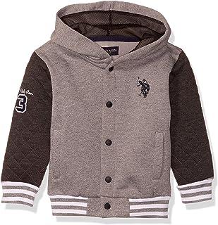 U.S. Polo Assn. Boys' Hooded Zip or Snap Fleece Jacket