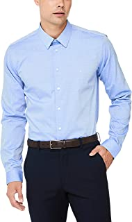 CALVIN KLEIN Extreme Slim Fit Business Shirt, Blue Oxford DOB