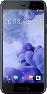 HTC U Play 32Gb Single Sim Factory Unlocked Android Os Smartphone International Version With No Warranty Sapphire Blue