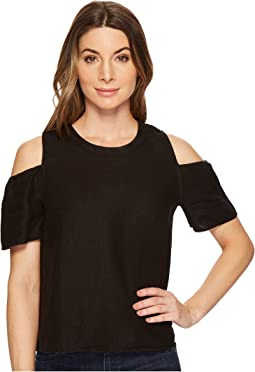 Three Dots - Cold Shoulder Top