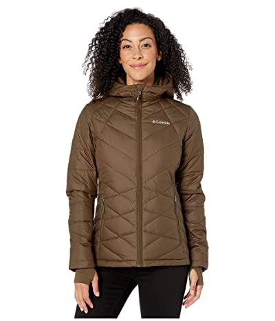 Columbia Heavenly Hooded Jacket (Olive Green) Women
