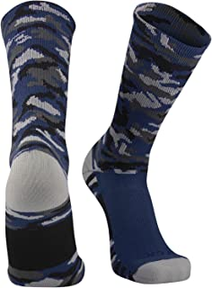 Sports Elite Woodland Camo Performance Crew Socks