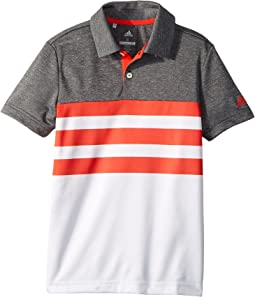 adidas Golf Kids - 3-Stripe Fashion Polo (Big Kids)