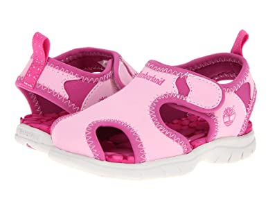 Timberland Kids Little Harbor (Toddler/Little Kid) (Pink w/ Pink) Girls Shoes