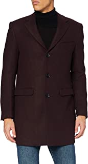 Marchio Amazon - find. - Wool Mix Smart Coat, Giubbotto Uomo