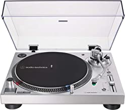 Audio-Technica AT-LP120XUSB-SV Direct-Drive Turntable (Analog & USB), Silver, Fully..