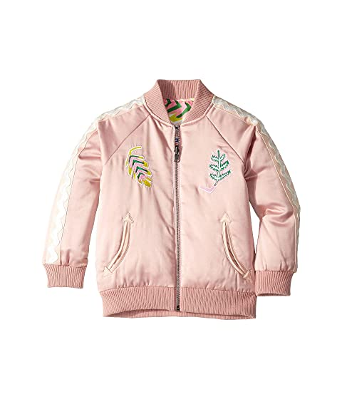 Stella McCartney Kids Reversible Palm Leaf Jacket (Toddler/Little Kids/Big Kids)