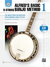 Alfred's Basic 5-String Banjo Method: The Most Popular Method for Learning How to Play, Book & CD