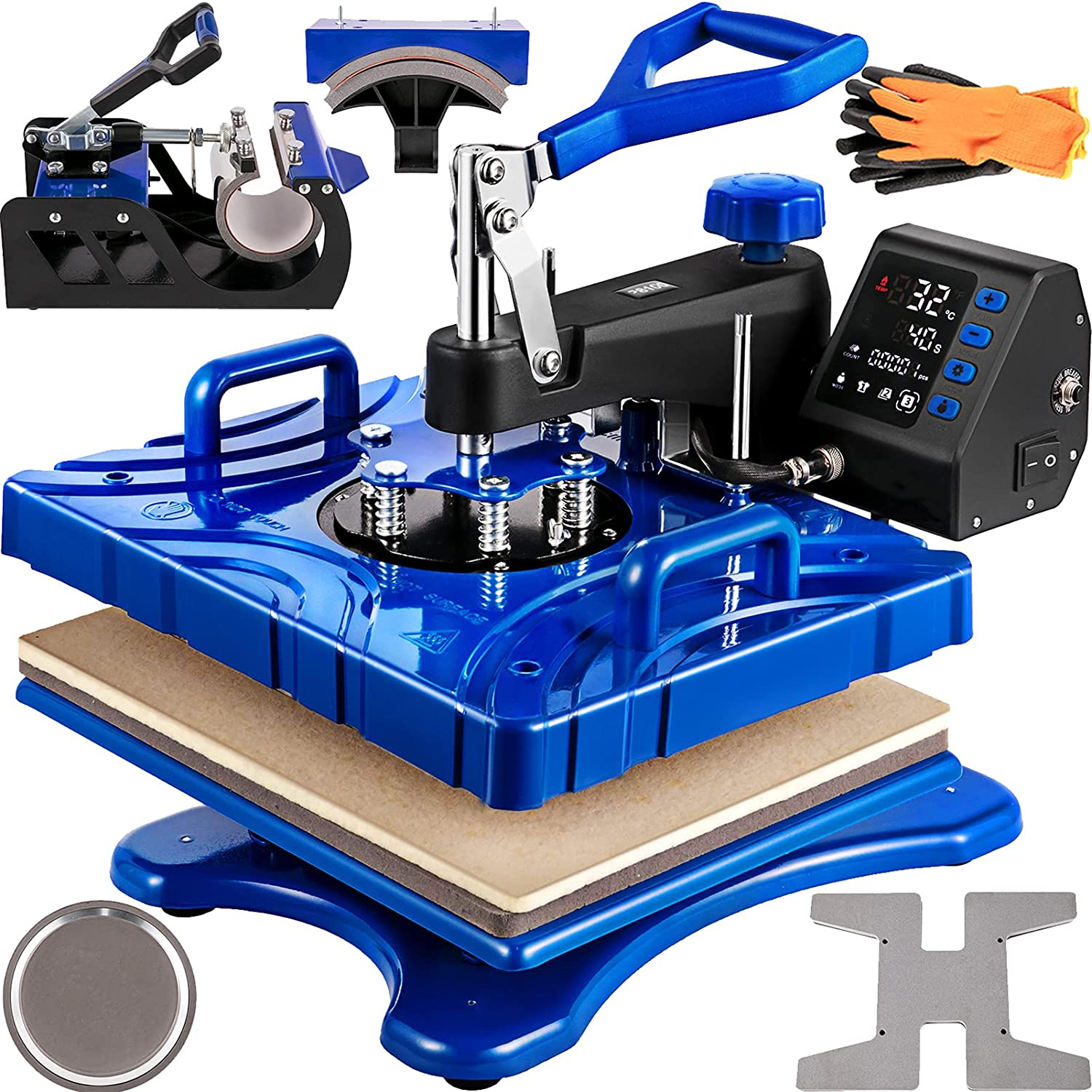 5 in 1 Surprise price Multi-Function Heat Press Print Can The Patte Any Opening large release sale Printer