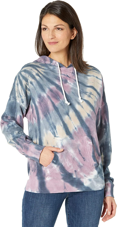 Lucky Brand Women's Long Sleeve Side Seam Relaxed Hoodie Sweatshirt