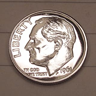 1980 S Roosevelt Dime Choice Proof 10c US Coin Collectible