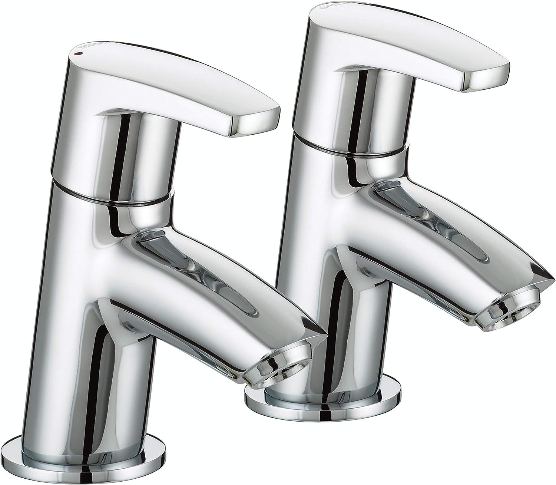 Bristan OR 3 4 C Orta Bath Taps - Chrome Plated