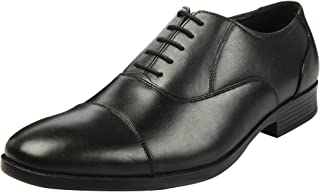 Heels & Shoes Men's Natural Leather Lace up Oxford Shoes