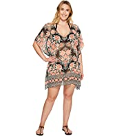 BECCA by Rebecca Virtue - Plus Size Southern Belle Chiffon Dress Cover-Up