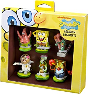 Penn-Plax Officially Licensed Spongebob Squarepants Aquarium Ornaments – Mini..