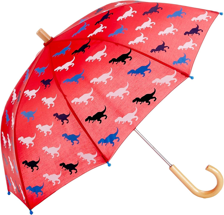 Hatley Printed Umbrellas Parapluie Taille Unique Gar/çon T-Rex