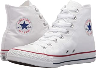 Converse Unisex Chuck Taylor All-Star High-Top Casual Sneakers in Classic Style and Color and Durable Canvas Uppers