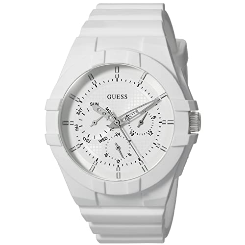 GUESS Unsisex Silicone Casual Watch
