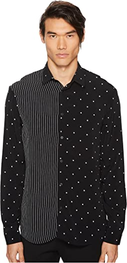 McQ - Mixed Pattern Sheehan Shirt