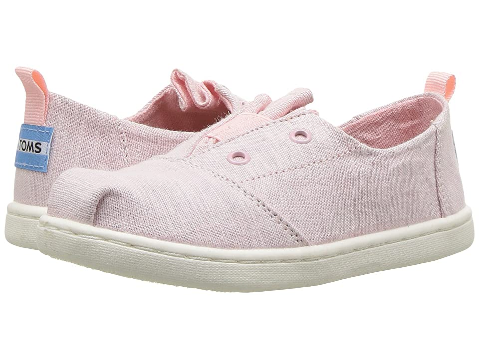 TOMS Kids Lumin (Infant/Toddler/Little Kid) (Blossom Slub Chambray) Girl
