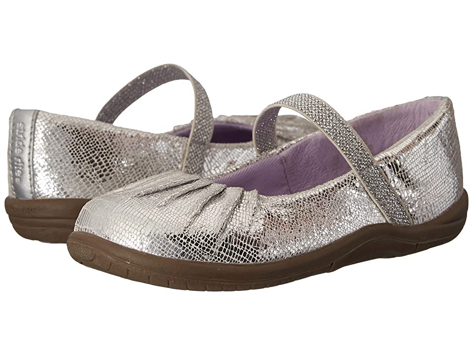 Stride Rite SRT Cassie (Toddler) (Silver) Girls Shoes