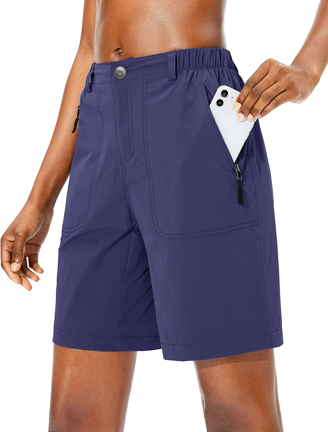 Max 63% OFF Pudolla Women's Hiking Cargo Shorts Travel Quick Dry Shor All stores are sold Summer