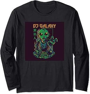 THE MOUNTAIN GALAXY DJ TURNTABLE UNIVERSE STARS HEADPHONES T TEE SHIRT S-5XL