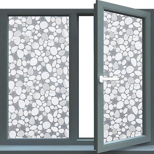bofeifs non adhesive window film cobblestone no glue 3d.htm design window clings amazon com  design window clings amazon com