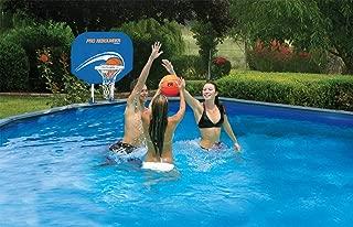 above ground pool basketball net