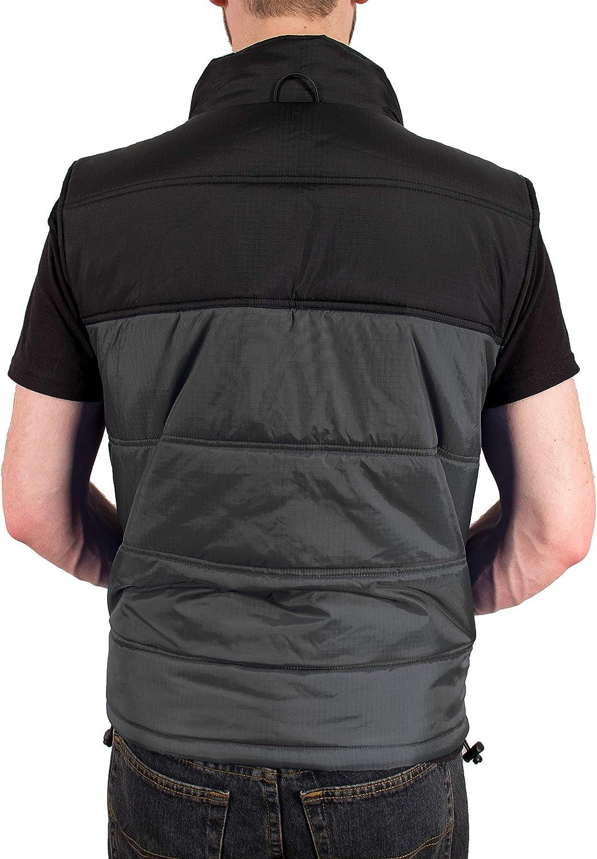 Freeze Defense 3in1 Men's Winter Coat Jacket Warm Parka w/ Insulated Snow Vest