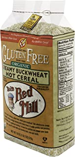 Bob's Red Mill Gluten Free Organic Creamy Buckwheat Hot Breakfast Cereal, 18 Ounce (Pack of 4)