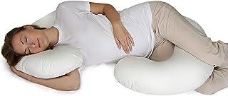 almohada de embarazo en forma de C