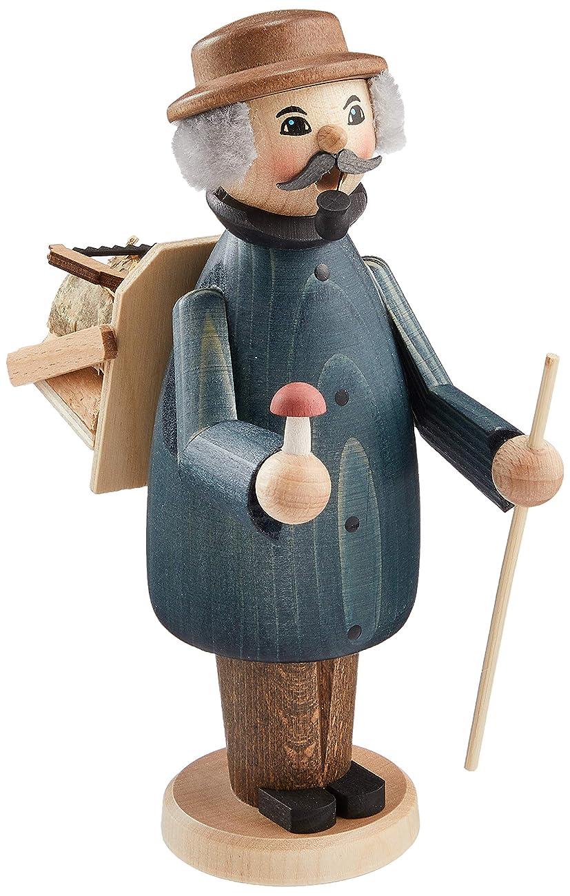 クレタレンダリング漁師kuhnert ミニパイプ人形香炉 薪拾い