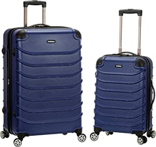 Rockland Speciale Hardside 2-Piece Expandable Spinner Luggage Set, Blue, (20/28)